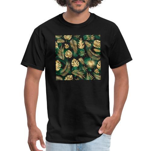 leaf overlay 1 - Men's T-Shirt