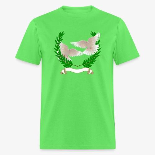 OLIVE BRANCH DOVES - Men's T-Shirt