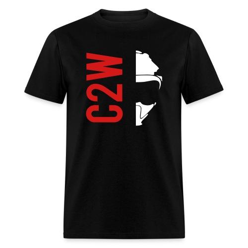 ChaseOnTwoWheels Split Logo - Men's T-Shirt