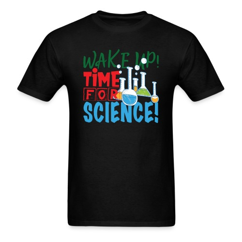 Time for science - Men's T-Shirt