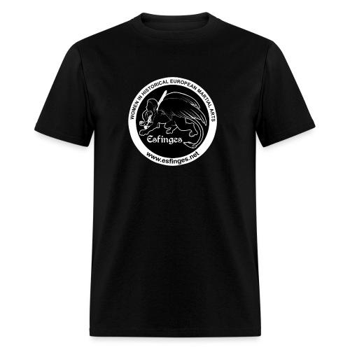 Esfinges Logo Black - Men's T-Shirt