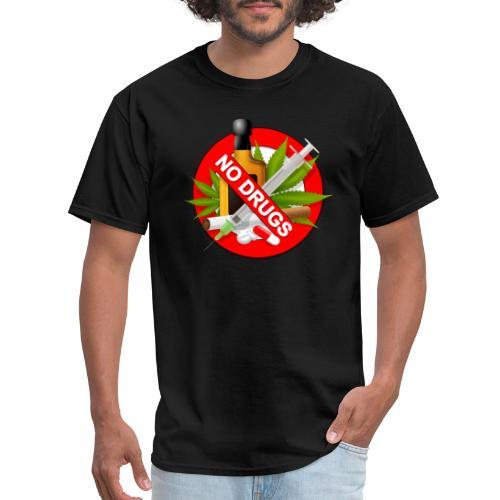 drug clipart drug addiction - Men's T-Shirt
