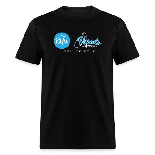 VCC Blue fin for Dark Tees - Men's T-Shirt