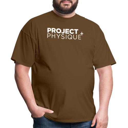 Projet Physique Logo Blanc - T-shirt pour hommes
