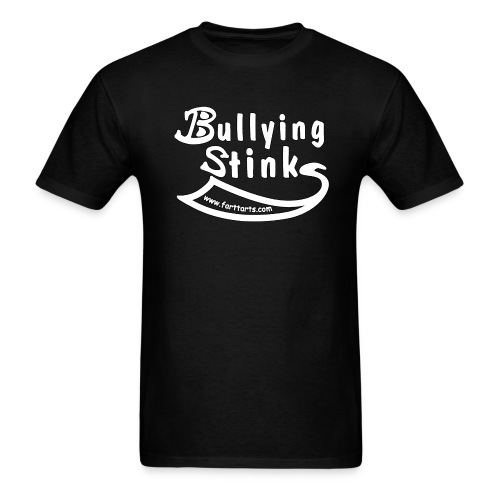 bullying stinks shirt outline png - Men's T-Shirt