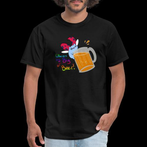 Catbug - Where's my big ol' beer - Men's T-Shirt