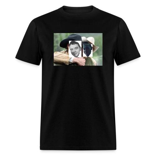 Darien and Curtis Camping Buddies - Men's T-Shirt