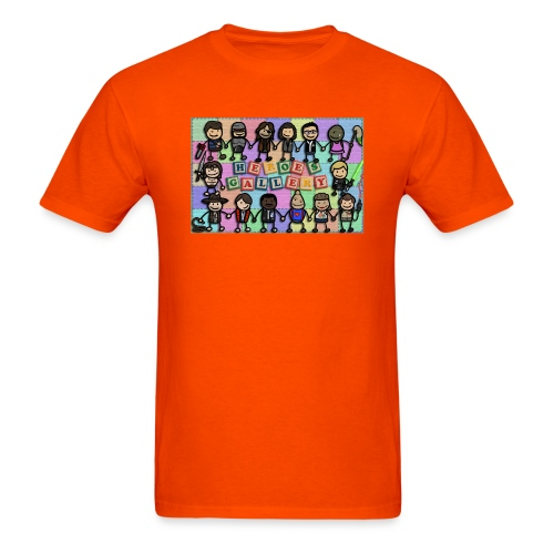 Heroes Gallery - Men's T-Shirt