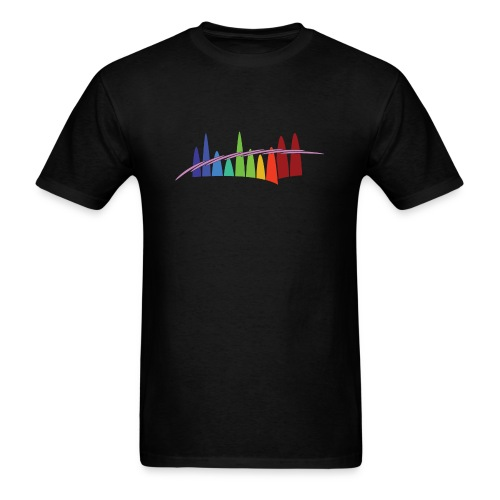Alberta Aurora Chasers Sticker - Men's T-Shirt