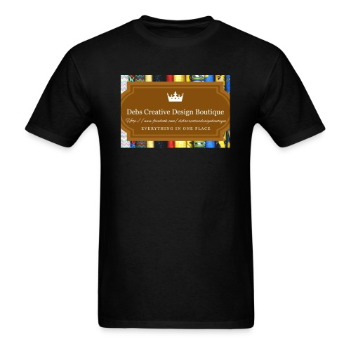 Debs Creative Design Boutique with site - Men's T-Shirt