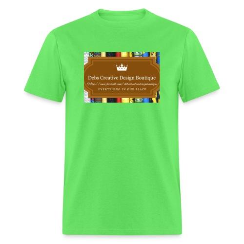 Debs Creative Design Boutique with site - Men's T-Shirt