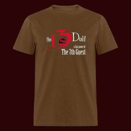 The 13th Doll Logo - Men's T-Shirt