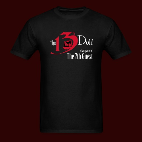 The 13th Doll Logo - Men's T-Shirt