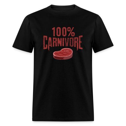 100% Carnivore - Men's T-Shirt