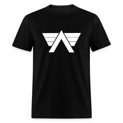 Bordeaux Sweater White AeRo Logo - Men's T-Shirt