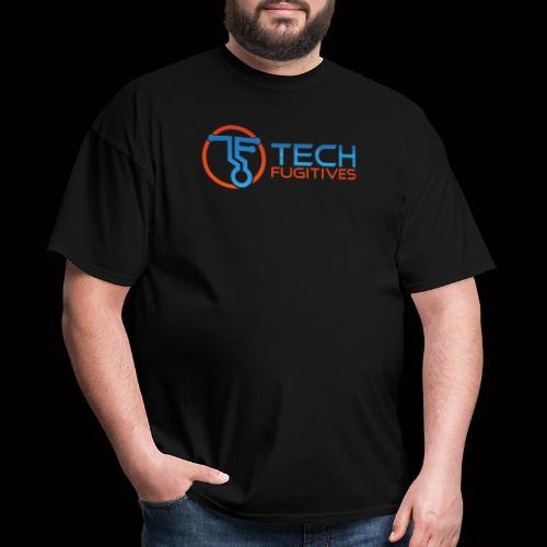 Tech Fugitives Logo T's and Gear - Men's T-Shirt
