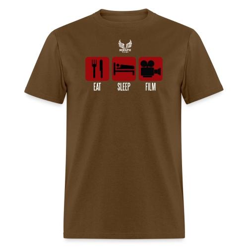 eat sleep film png - Men's T-Shirt