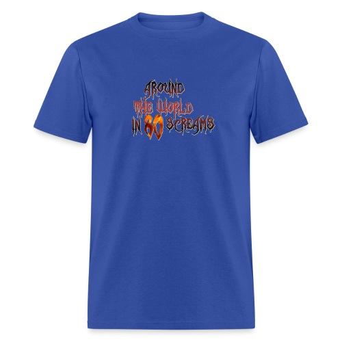Around The World in 80 Screams - Men's T-Shirt