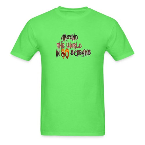 Around The World in 80 Screams - Men's T-Shirt
