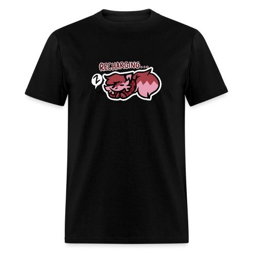 Recharging Bean - Men's T-Shirt