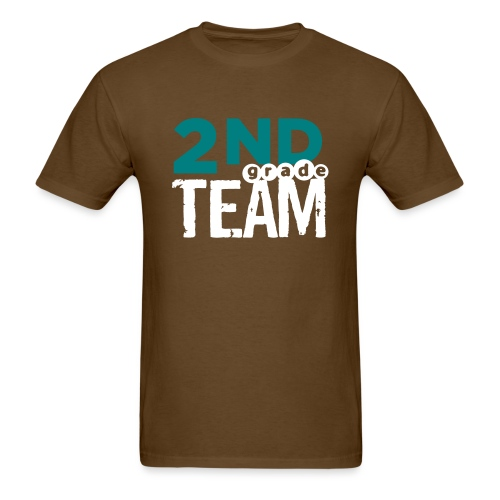 Bold 2nd Grade Team Teacher T Shirts - Men's T-Shirt