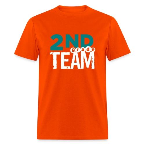 Bold 2nd Grade Team Teacher T Shirts - Men's T-Shirt