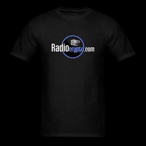 RadioCrypto Logo 1 - Men's T-Shirt