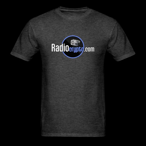 RadioCrypto Logo 1 - Men's T-Shirt