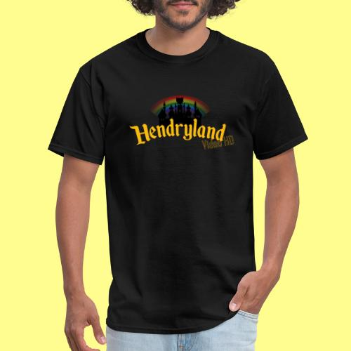 HENDRYLAND logo Merch - Men's T-Shirt