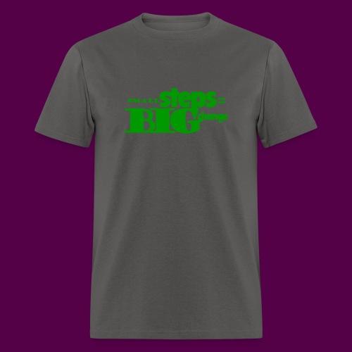 small steps green - Men's T-Shirt