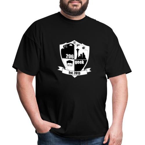 206geek podcast - Men's T-Shirt