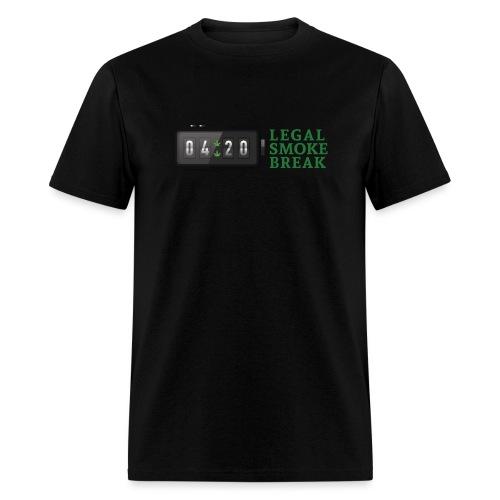 4:20 Legal Smoke Break - Men's T-Shirt