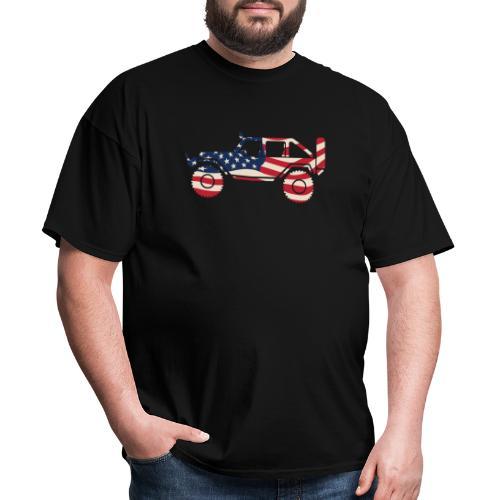 American Patriotic Off Road 4x4 - Men's T-Shirt