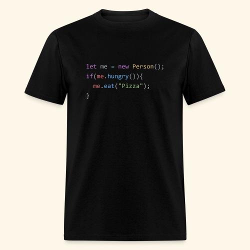 Pizza Code - Colored Version - Men's T-Shirt