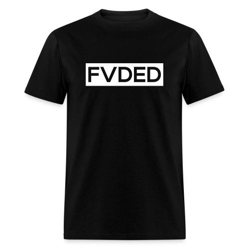 FVDED Cutout resize V1 white - Men's T-Shirt