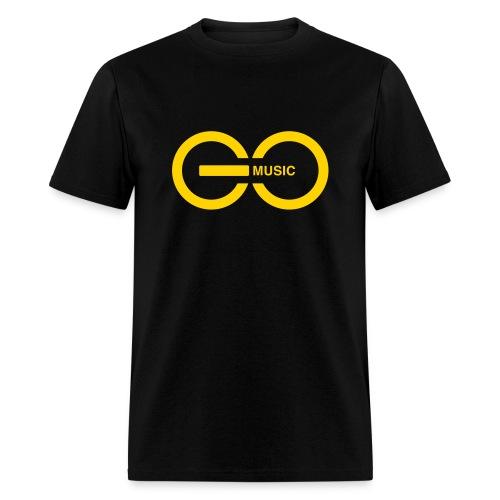GOMusic logo - Men's T-Shirt