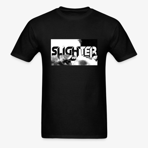 Slighter Logo Corrosion - Men's T-Shirt