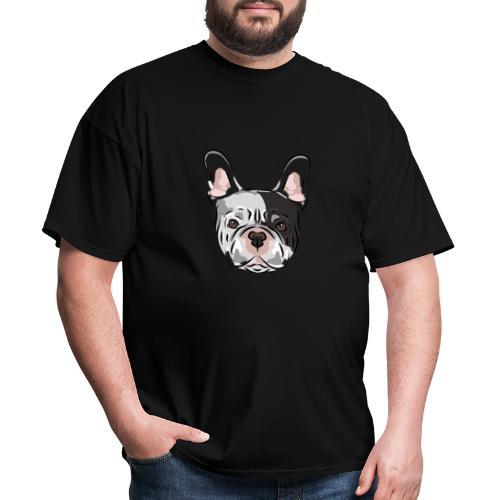 pngtree french bulldog dog cute pet - Men's T-Shirt