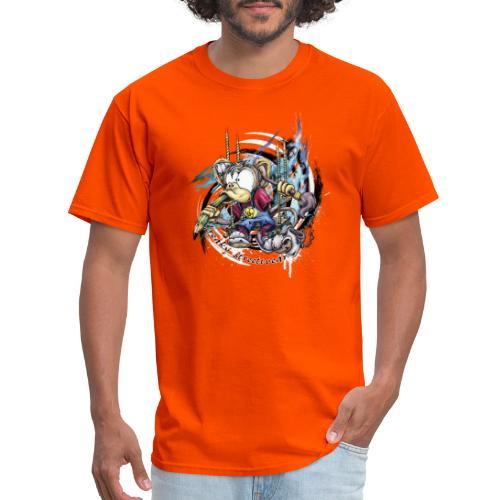 the graphic monkey - Men's T-Shirt