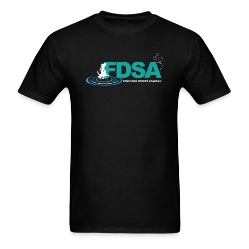 FDSA Teal Ripple - Men's T-Shirt