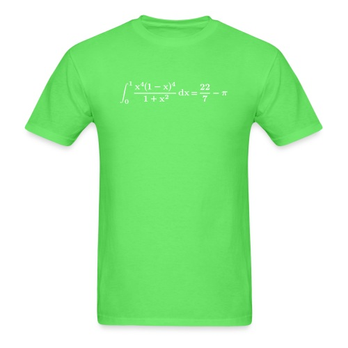 pi integral - Men's T-Shirt
