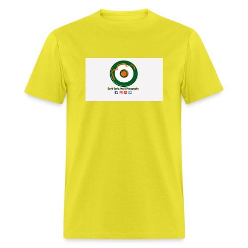 David Doyle Arts & Photography Logo - Men's T-Shirt
