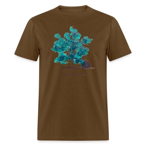 Teal Tree PNG - Men's T-Shirt