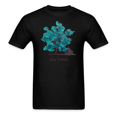 Teal Tree PNG - Men's T-Shirt
