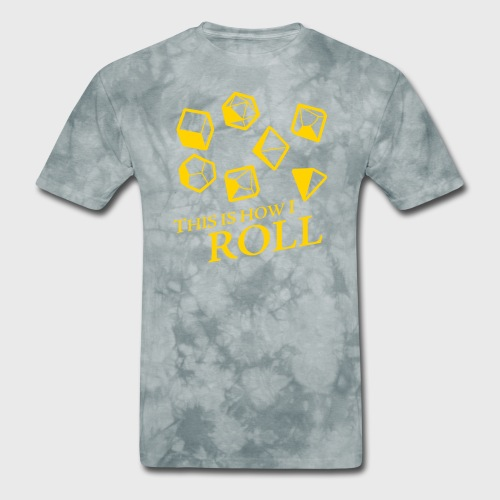 How I Roll Fantasy Dice - Men's T-Shirt
