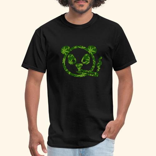 PANDA SMOKING - PANDAS STONER - CANNABISLEAF - Men's T-Shirt