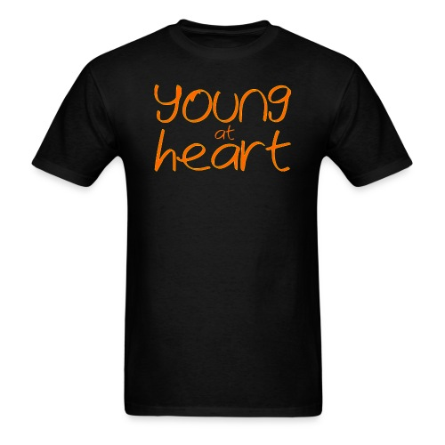 young at heart - Men's T-Shirt