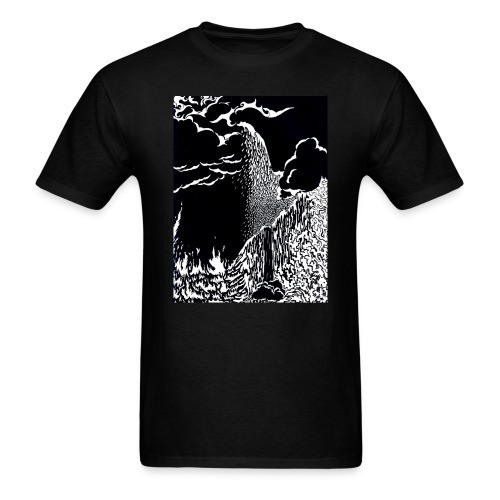 elemental negative - Men's T-Shirt