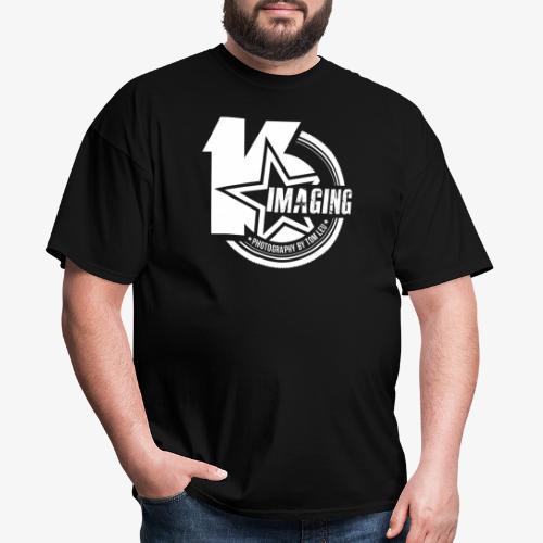 16IMAGING Badge White - Men's T-Shirt