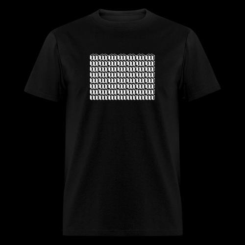 Block Grid WHITE - Men's T-Shirt